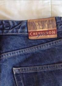 calças novas de ganga de mulher nº 38