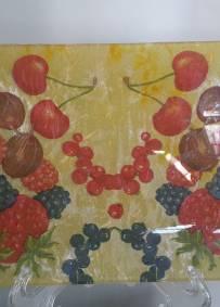 Prato para fruta/decorativo