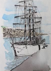 Desenho de Bernardim Casaca