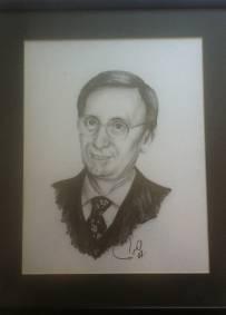 Retrato de Júlio Isidro