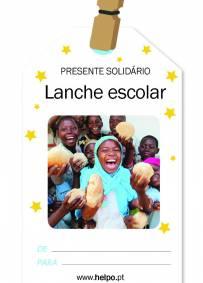 Presente solidário de natal - Lanche escolar