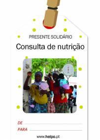 Presente solidário de natal - Consulta de Nutrição
