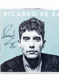 CD autografado pelo Ricardo de Sá