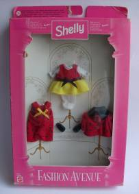 Conjunto Fashion Avenue Shelly Joaninhas (1997) novo em caixa NRFB