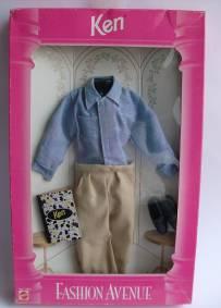 Conjunto Fashion Avenue Ken (1995) novo em caixa nrfb
