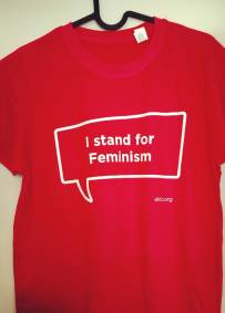 T-shirt - I stand for feminism