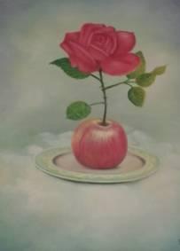A rosa e a maça