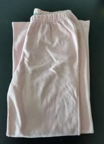 Calças de criança cor de rosa