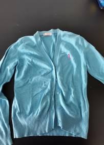 Casaco azul de criança