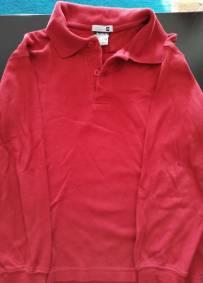 Camisola de manda comprida vermelha