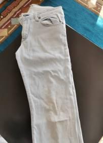 Calças de ganga clara