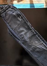 Calças de ganga com detalhes