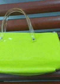 Mala/Carteira Verde