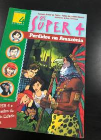 Livro os super 4 perdidos na Amazónia