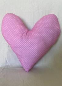 Almofada rosa com padrão