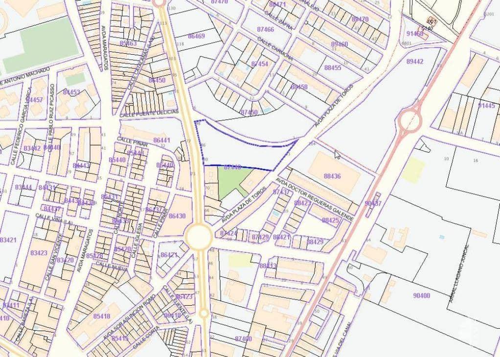 Suelo en venta en Urbanización los Lirios, Benavente, Zamora, Avenida Luis Moran, 1.269.900 €, 8324 m2