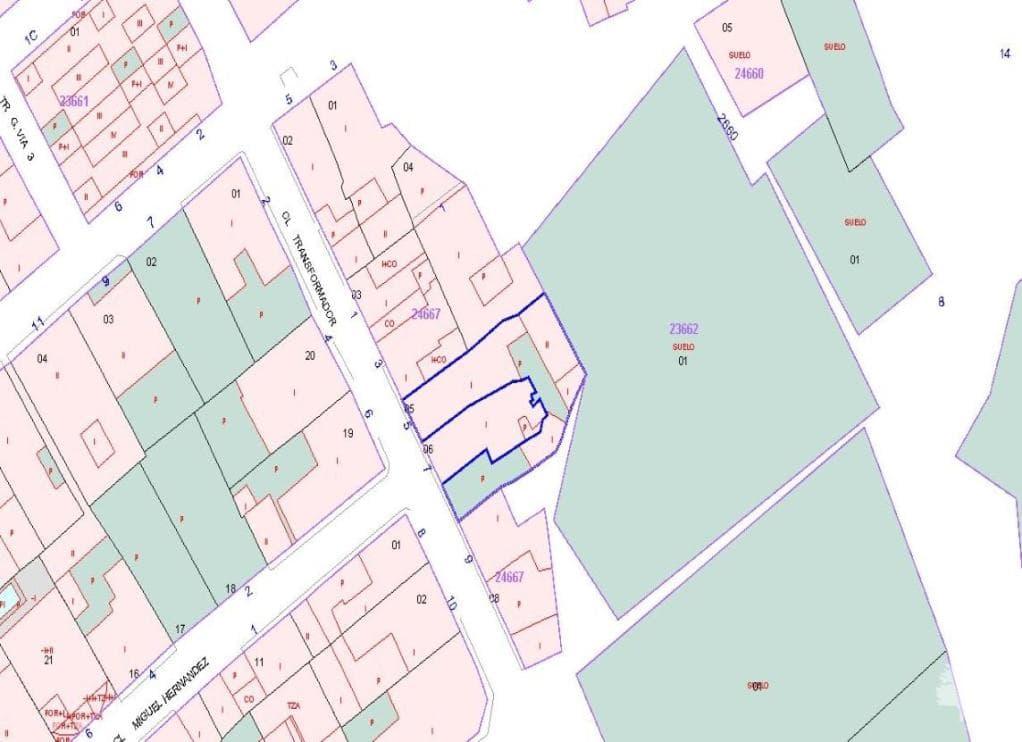 Casa en venta en Pedanía de Alquerías, Murcia, Murcia, Calle Transformador, 69.600 €, 3 habitaciones, 2 baños, 131 m2