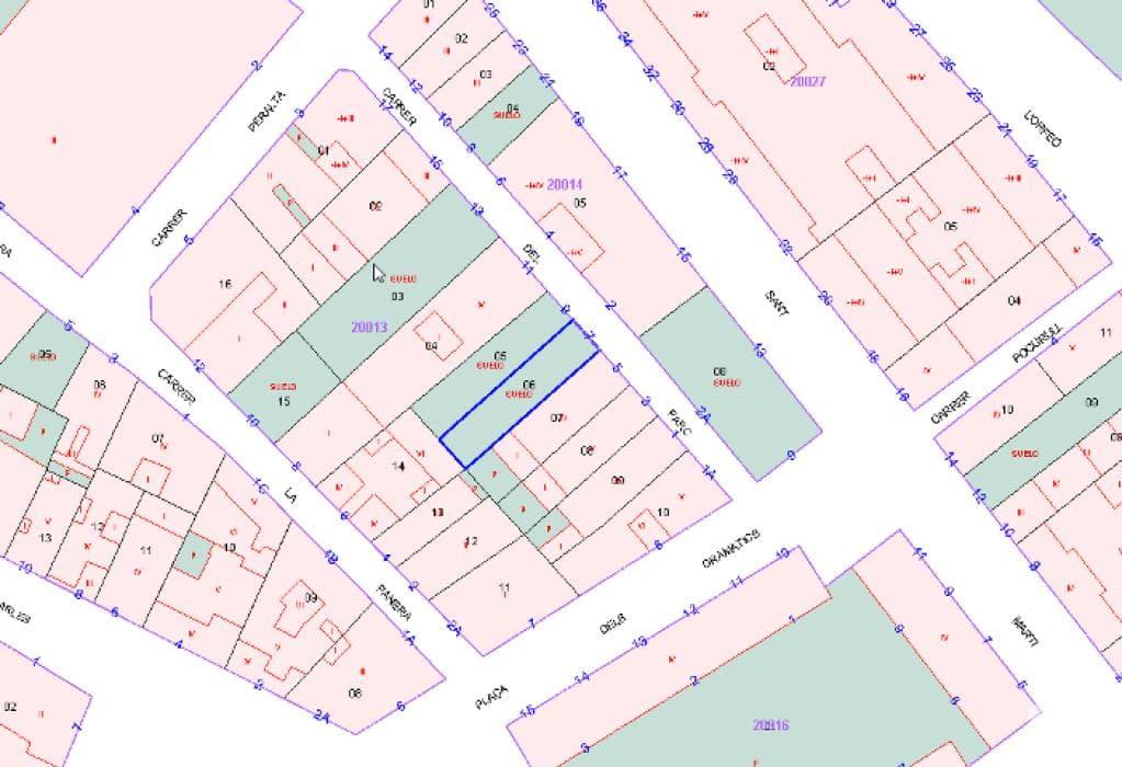 Suelo en venta en Lleida, Lleida, Calle Parc, 59.000 €, 85 m2