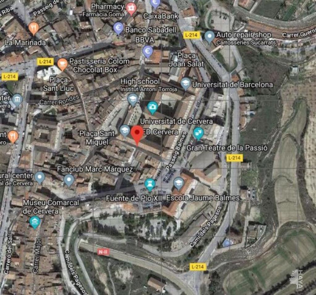 Casa en venta en Cervera, Lleida, Calle Canceller Dou, 99.000 €, 3 habitaciones, 1 baño, 121 m2