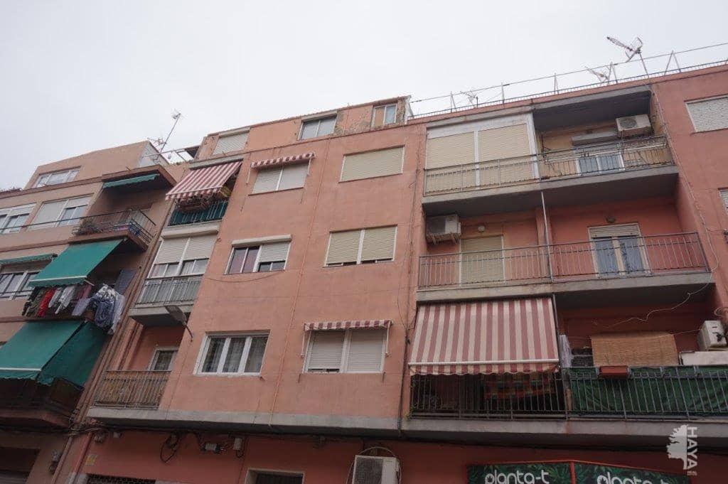 Piso en venta en Alicante/alacant, Alicante, Calle Arturo, 74.900 €, 4 habitaciones, 1 baño, 77 m2