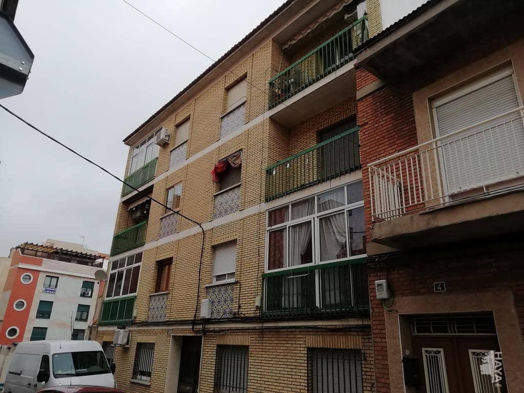 Piso en venta en Puertollano, Ciudad Real, Calle Hospital, 67.000 €, 3 habitaciones, 1 baño, 126 m2