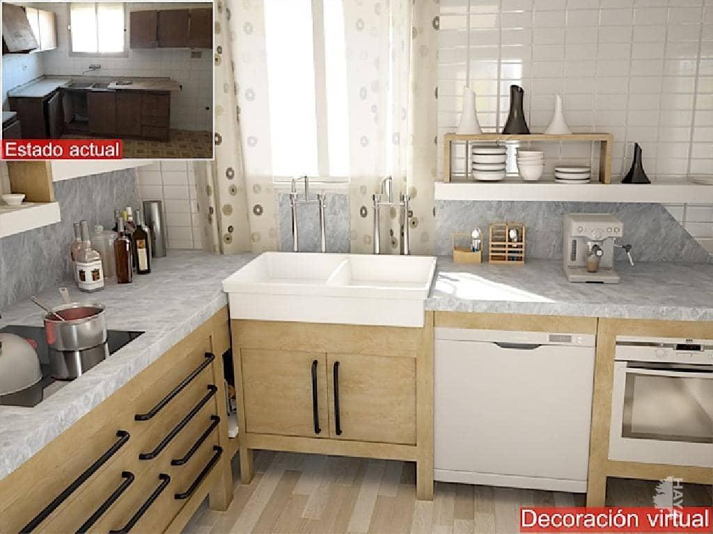 Casa en venta en Benissa, Alicante, Calle Escoto, 63.400 €, 3 habitaciones, 3 baños, 138 m2