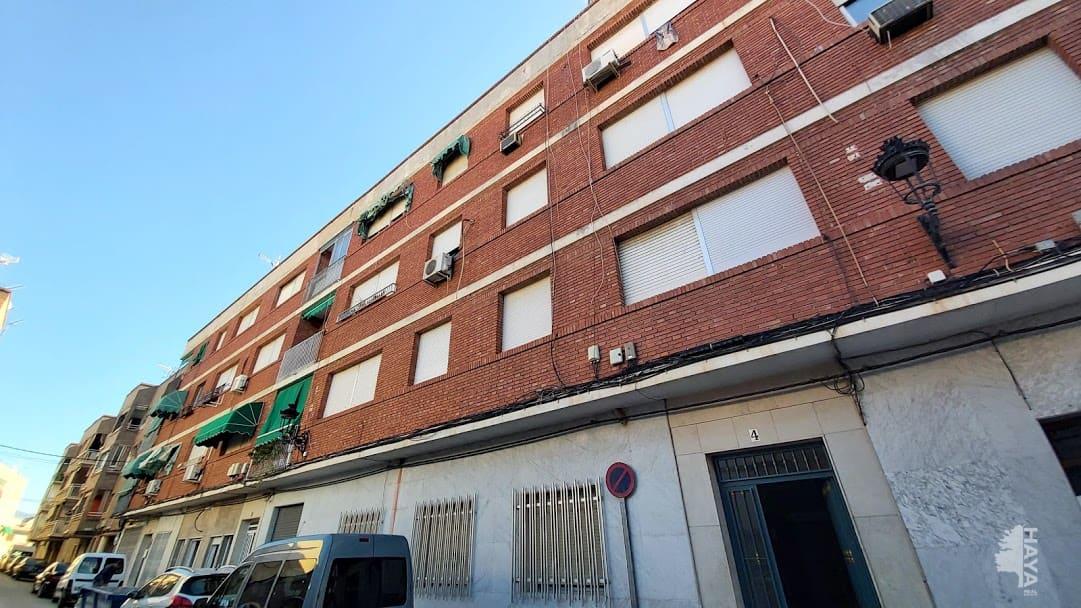 Piso en venta en Algaida, Archena, Murcia, Calle Juez Garcia Vizcaino, 85.500 €, 4 habitaciones, 1 baño, 111 m2
