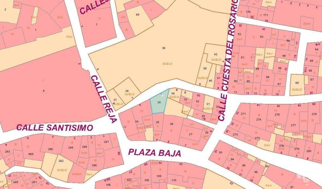 Suelo en venta en Corella, Corella, Navarra, Calle San Francisco, 73.500 €, 55 m2
