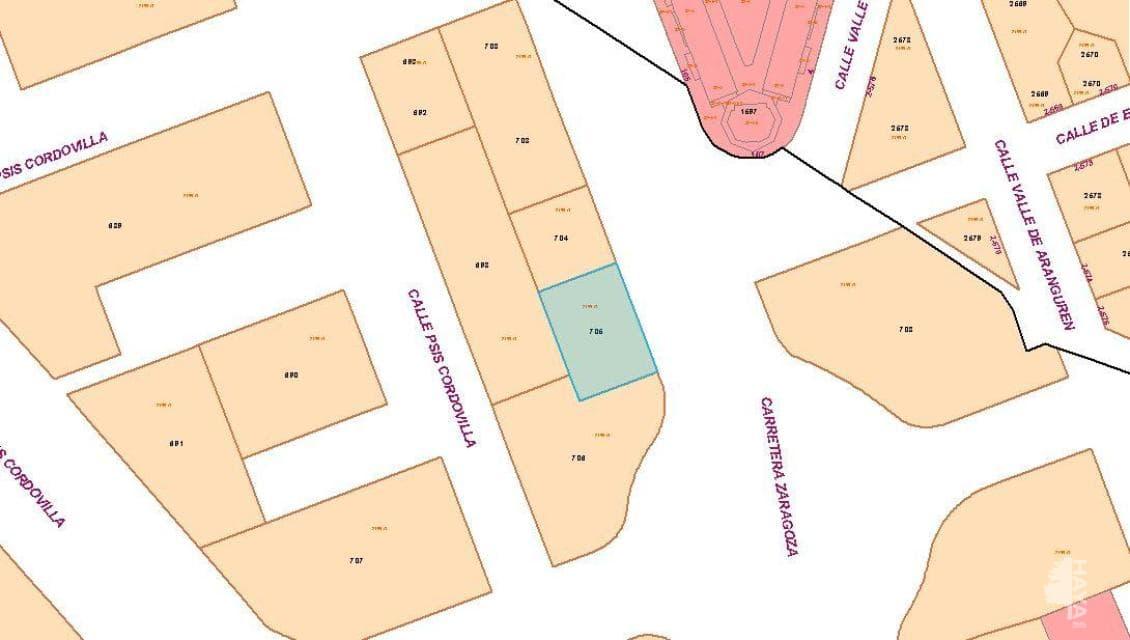 Suelo en venta en Milagrosa, Galar, Navarra, Calle Cordovilla, 191.800 €, 806 m2