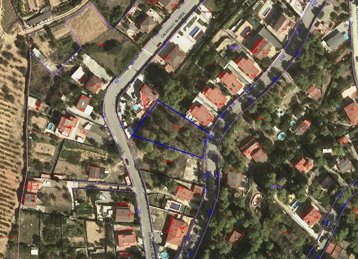 Suelo en venta en Molí D`en Bosc, Subirats, Barcelona, Calle Sant Sadurní, 75.000 €, 1161 m2