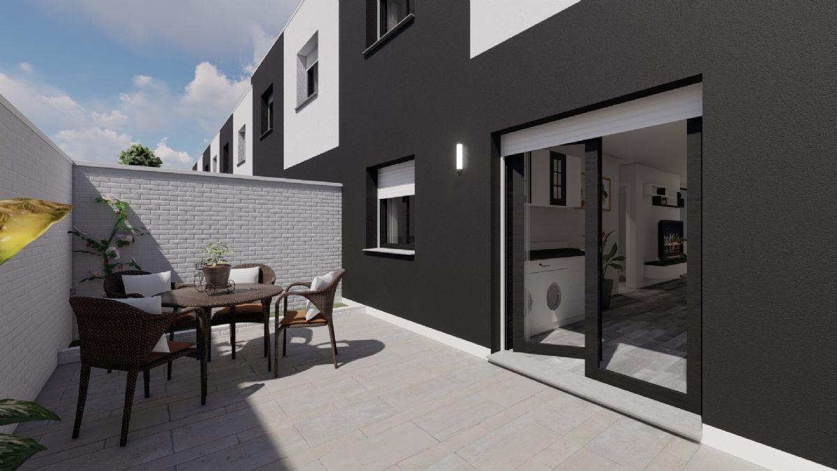 Casa en venta en Barrio de Tiradores, Cuenca, Cuenca, Calle Magdalena Santiago, 283.000 €, 4 habitaciones, 130 m2