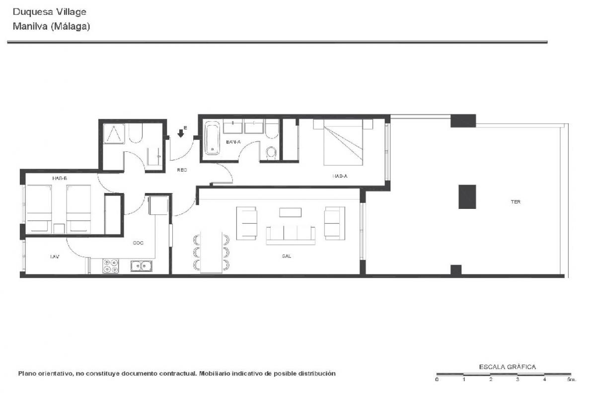 Piso en venta en Piso en Manilva, Málaga, 152.000 €, 2 habitaciones, 2 baños, 130 m2