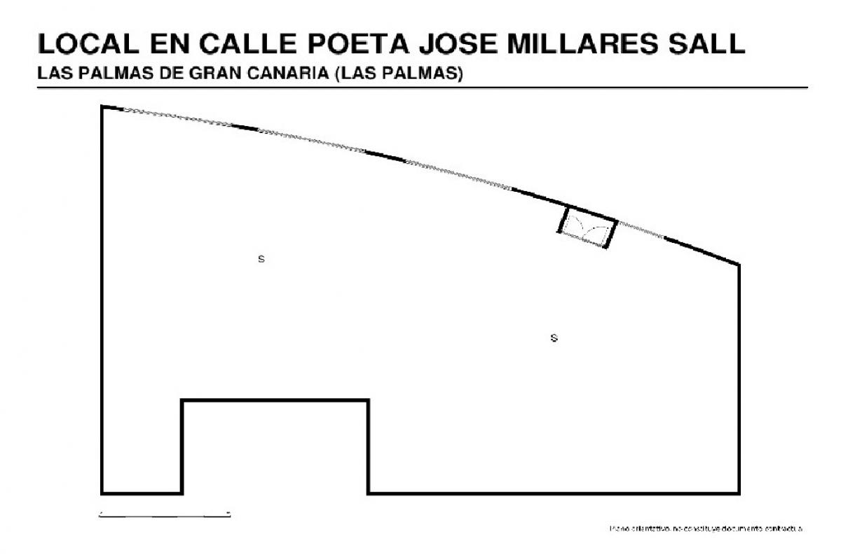 Local en venta en Local en la Palmas de Gran Canaria, Las Palmas, 110.500 €, 462 m2