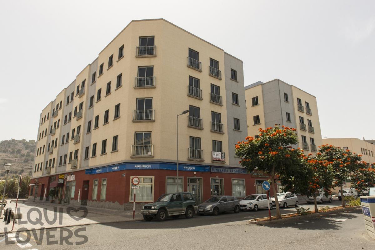 Piso en venta en Visvique, Arucas, Las Palmas, Avenida Agustin Millares Carlo, 114.500 €, 2 habitaciones, 1 baño, 69 m2