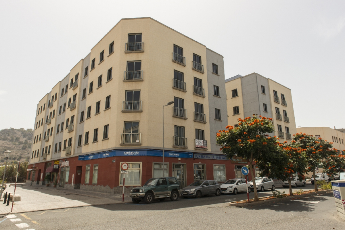 Piso en venta en Visvique, Arucas, Las Palmas, Avenida Agustin Millares Carlo, 140.500 €, 3 habitaciones, 2 baños, 97 m2