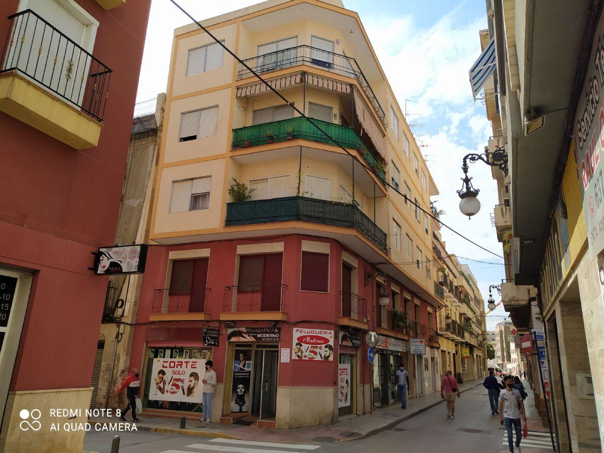 Piso en venta en Rabaloche, Orihuela, Alicante, Calle San Agustin, 45.000 €, 4 habitaciones, 1 baño, 116,89 m2