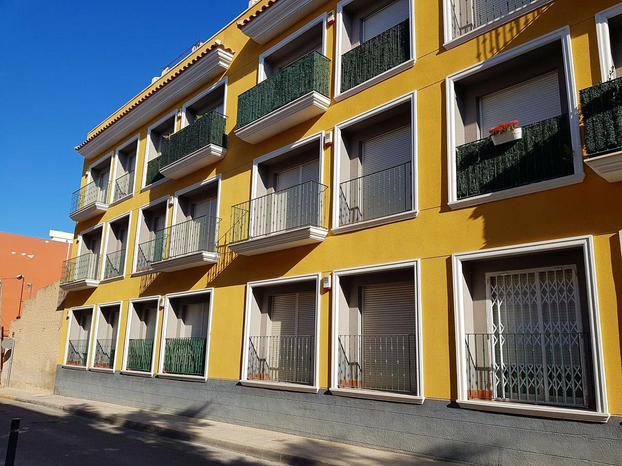 Piso en venta en Aspe, Alicante, Calle Bascula, 91.800 €, 3 habitaciones, 1 baño, 128 m2