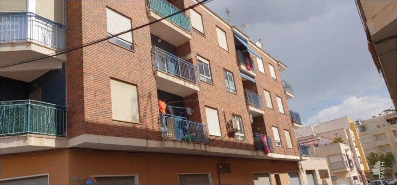 Piso en venta en Aspe, Alicante, Calle Jose Vicedo, 55.800 €, 4 habitaciones, 1 baño, 89 m2