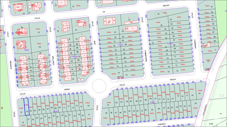 Suelo en venta en Urbanización Eras de San Sebastián, Torrejón del Rey, Guadalajara, Calle Formentera, 1.277.000 €, 15857 m2