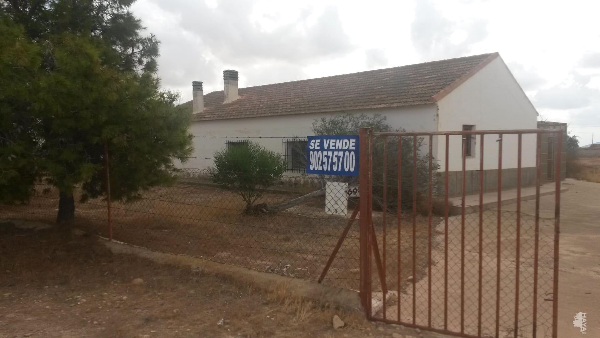 Casa en venta en Pedanía de Valladolises Y Lo Jurado, Fuente Álamo de Murcia, Murcia, Lugar Arcos (los), 59.800 €, 3 habitaciones, 1 baño, 127 m2