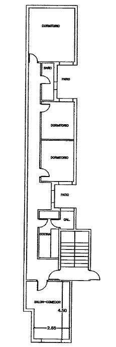 Piso en venta en Piso en Castellón de la Plana/castelló de la Plana, Castellón, 39.500 €, 3 habitaciones, 1 baño, 88 m2