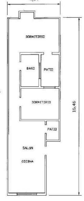 Piso en venta en Piso en Arrecife, Las Palmas, 80.000 €, 2 habitaciones, 1 baño, 73 m2