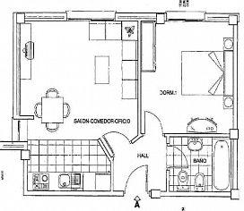 Piso en venta en Piso en Poblete, Ciudad Real, 41.100 €, 1 habitación, 1 baño, 81 m2