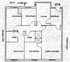 Piso en venta en Piso en Alcoy/alcoi, Alicante, 40.500 €, 4 habitaciones, 114 m2