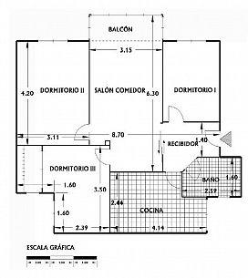 Piso en venta en Piso en Novelda, Alicante, 28.000 €, 3 habitaciones, 1 baño, 77 m2