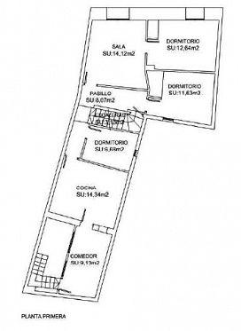 Casa en venta en Casa en Rincón de Soto, La Rioja, 41.500 €, 4 habitaciones, 1 baño, 252 m2
