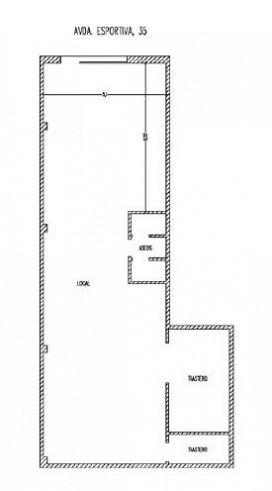Local en venta en Local en Deltebre, Tarragona, 43.500 €, 98 m2