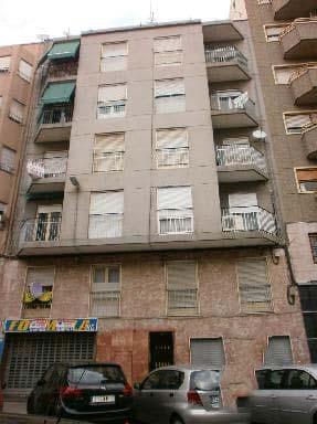 Piso en venta en Elche/elx, Alicante, Calle Benito Perez Galdos, 74.157 €, 4 habitaciones, 1 baño, 93 m2