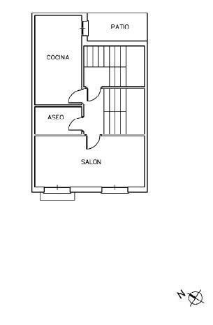 Piso en venta en Piso en Socuéllamos, Ciudad Real, 67.700 €, 3 habitaciones, 1 baño, 157 m2