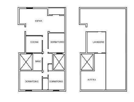 Piso en venta en Piso en los Realejos, Santa Cruz de Tenerife, 84.500 €, 4 habitaciones, 1 baño, 114 m2